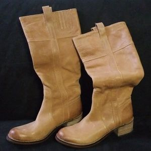 Lucky Brand tab knee-high Boots
